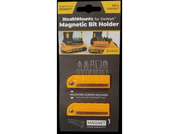 StealthMounts Magnetic Bit Holder for Dewalt XR & Flexvolt Tools