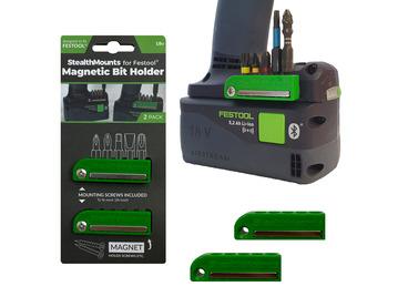 StealthMounts Magnetic Bit Holder for Festool 18v Tools