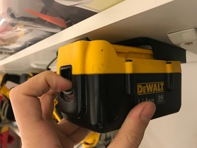DeWalt 36v Mounts