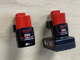 StealthMounts for Milwaukee M12 Batteries