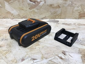 Worx Powershare Battery Mounts