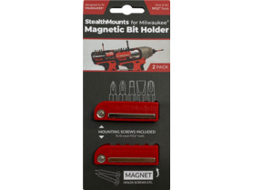 StealthMounts Magnetic Bit Holder for Milwaukee M12 Tools
