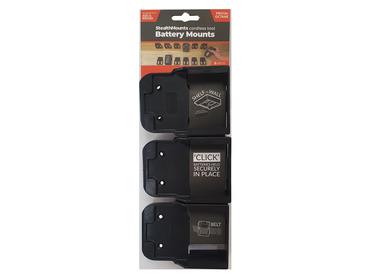 StealthMounts for AEG & Ridgid Batteries