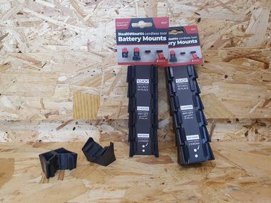 Milwaukee M12 Battery Mounts