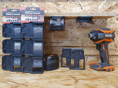 AEG & Ridgid Battery Mounts