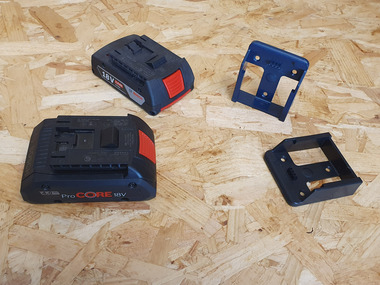Bosch Battery Mounts