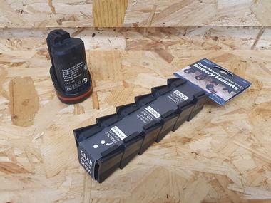 Bosch 10.8v / 12v Battery Mounts