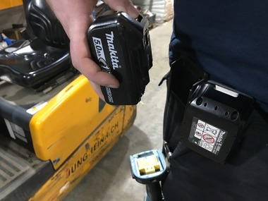 StealthMounts for Makita LXT Batteries