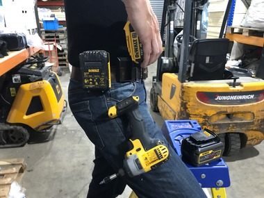 StealthMounts for DeWalt Batteries