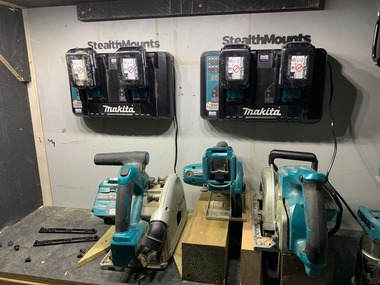 StealthMounts for Makita DC18RD Charger