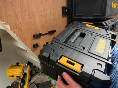 StealthMounts for Dewalt T-STAK Toolbox