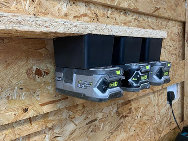 Ryobi 18v ONE+ Battery Mounts