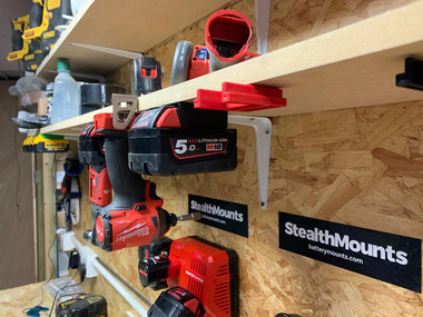StealthMounts for Milwaukee M18 Tools